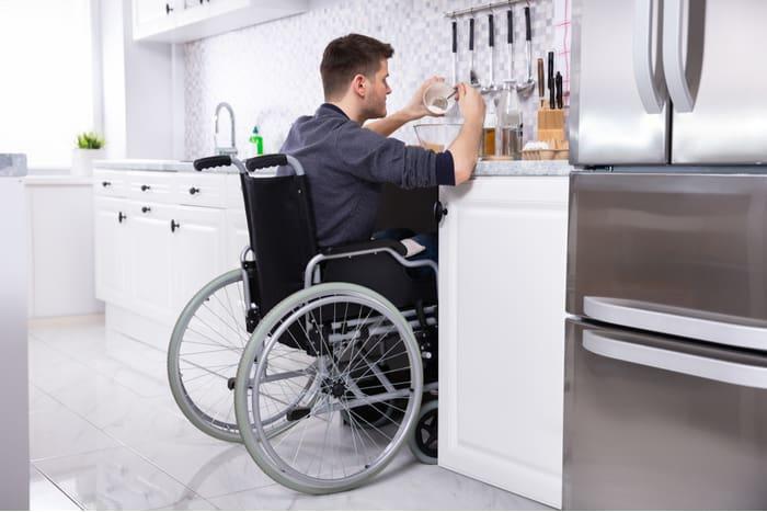 accessible kitchen wheelchair